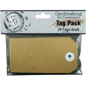 Fundamentals Rectangle Tags 20/Pkg