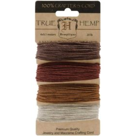 Hemp cord set - bronze