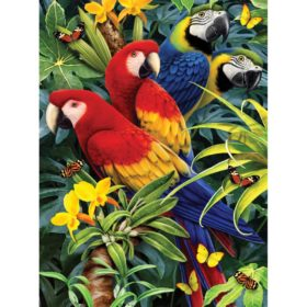PaintByNr - Majestic Macaws