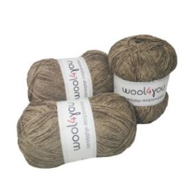 WOOL4YOU Chenille 4/5, 100g - beige 102