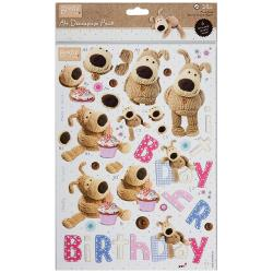 A4 decoupage - Boofle birthday