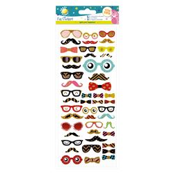 Fun Stickers - moustaches