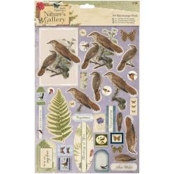 A4 decoupage pack - birds