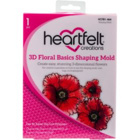 Heartfelt Creations Shaping Mold - 3D Floral Basics