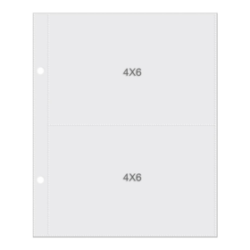 "Sn@p! Pocket Pages For 6""X8"" Binders 10/Pkg - 4x6"