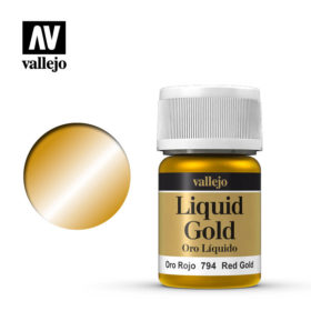 Vallejo Liquid Gold - red gold
