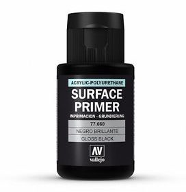 Vallejo gloss black primer