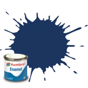 Humbrol enamel 14ml gloss midnight blue 15