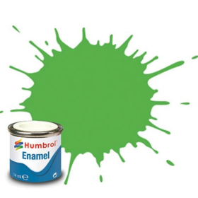 Humbrol enamel 14ml gloss lime 38