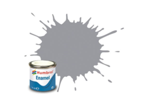 Humbrol enamel 14ml gloss pale grey 40