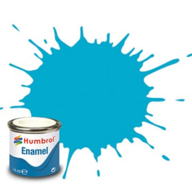 Humbrol enamel 14ml gloss sea blue 47