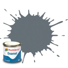 Humbrol enamel 14ml dark sea grey 164