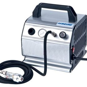 Panzag Airbrush Compressor with air hose and mini filter