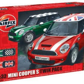 Airfix Mini Cooper S twin pack 1:32