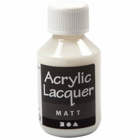 Akryllakk, Matt, 100ml