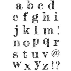 Stempel - Design Lowercase Alphabet