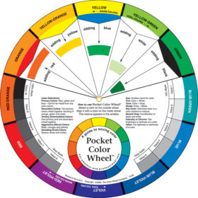 Color Wheel Pocket size – Lommefargesirkel