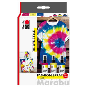 Marabu Fashion Spray Set – TIE DYE STYLE